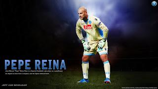 Pepe Reina - Kiper Napoli