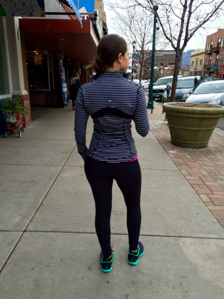 lululemon parallel stripe define