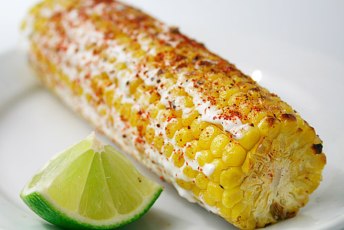 The Supreme Plate: ROTD: Elote (Grilled Mexican Style Corn ...