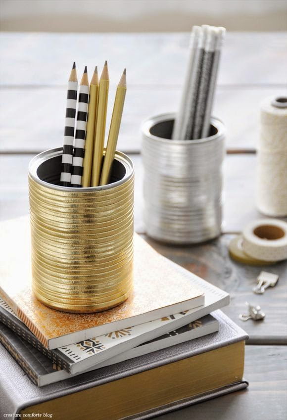 decoupage na ołówkach kolorowe ołówki DIY