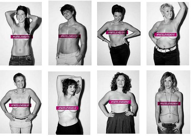 #fatelevedere: campagna prevenzione del tumore al seno