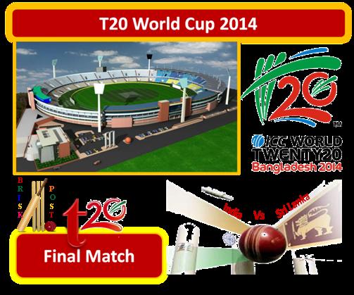 ICC World Twenty20 Bangladesh: Sri Lanka Won by 6 Wickets in T20 World Cup 2014