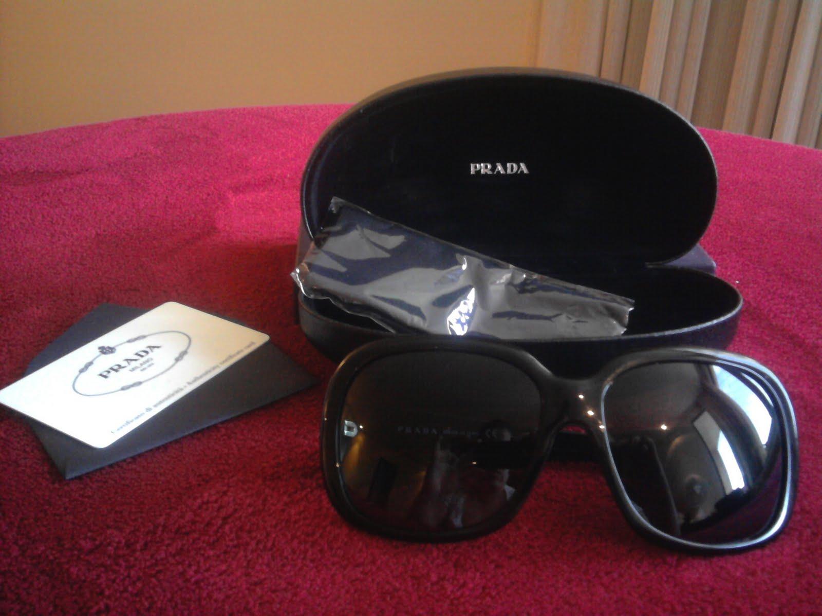 10b3f6e1c7a73 É Tudo Desapego  Prada Sunglasses - modelo SPR 17I