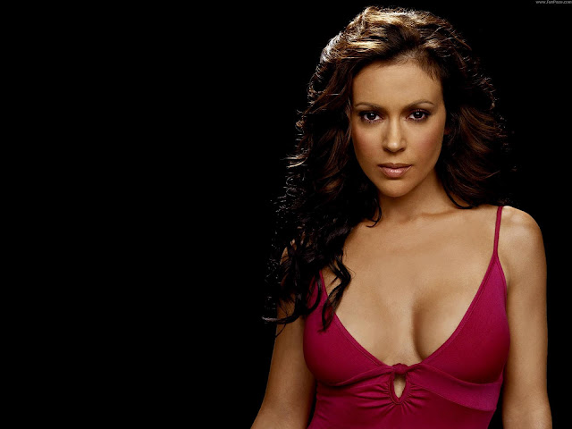 Alyssa Milano HD Wallpaper -10