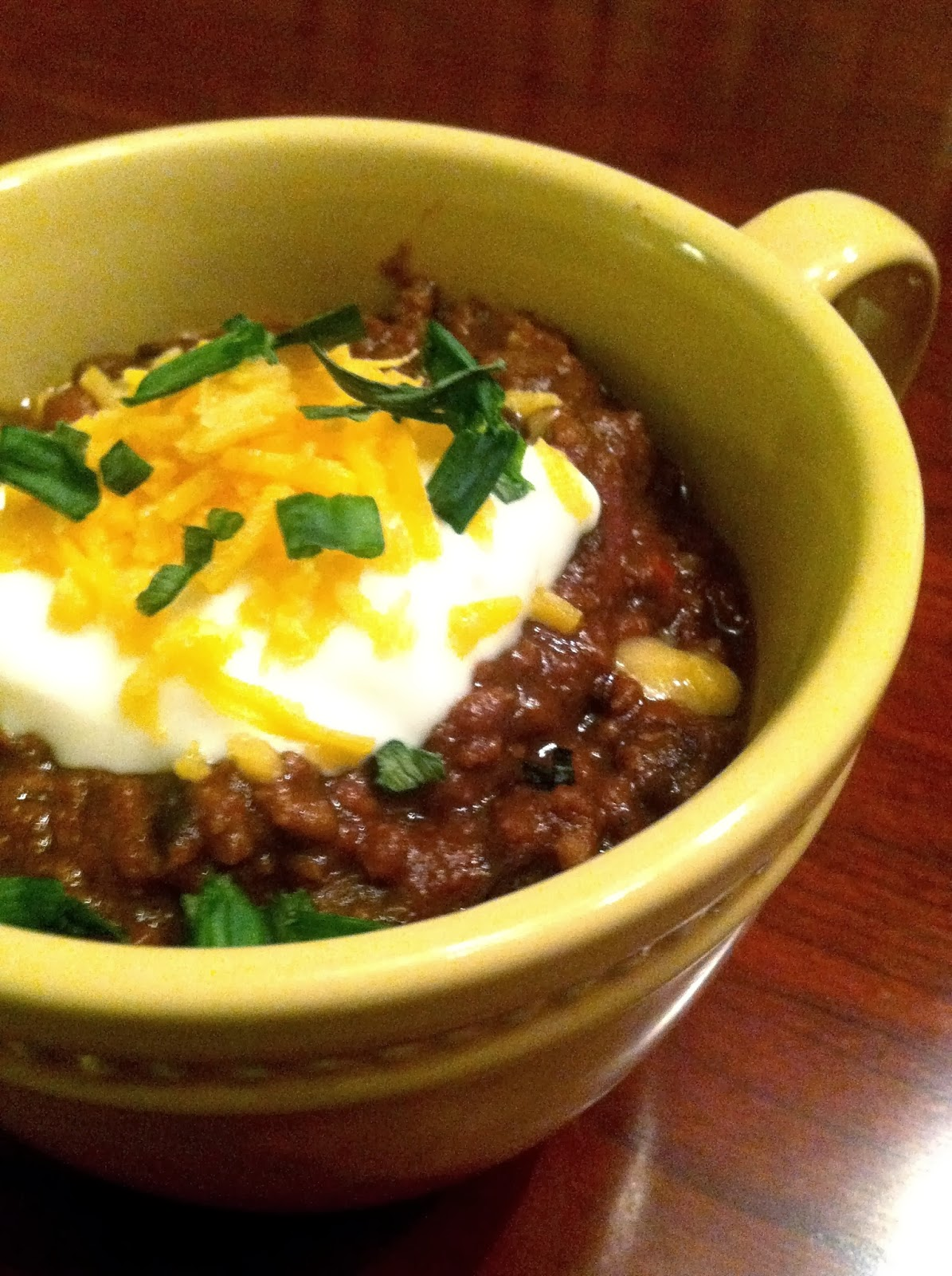 Chocolate Crockpot Slow cooker Chili