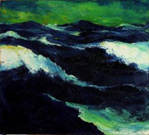 Emil Nolde - La mer III,1913