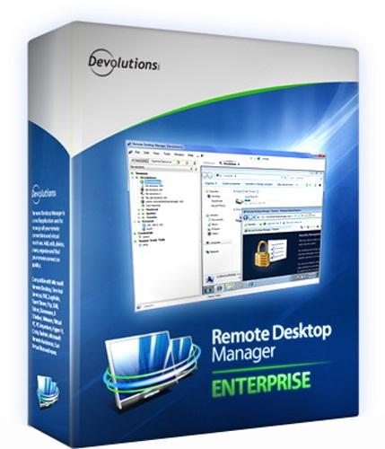 Remote Desktop Manager Enterprise 12.5.5.0 poster box cover