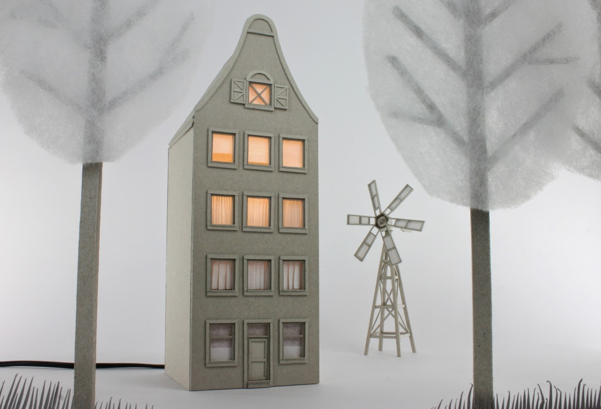 06-Dutch-Canal-House-Vera-van-Wolferen-Architectural-Cardboard-Night-Lights-www-designstack-co