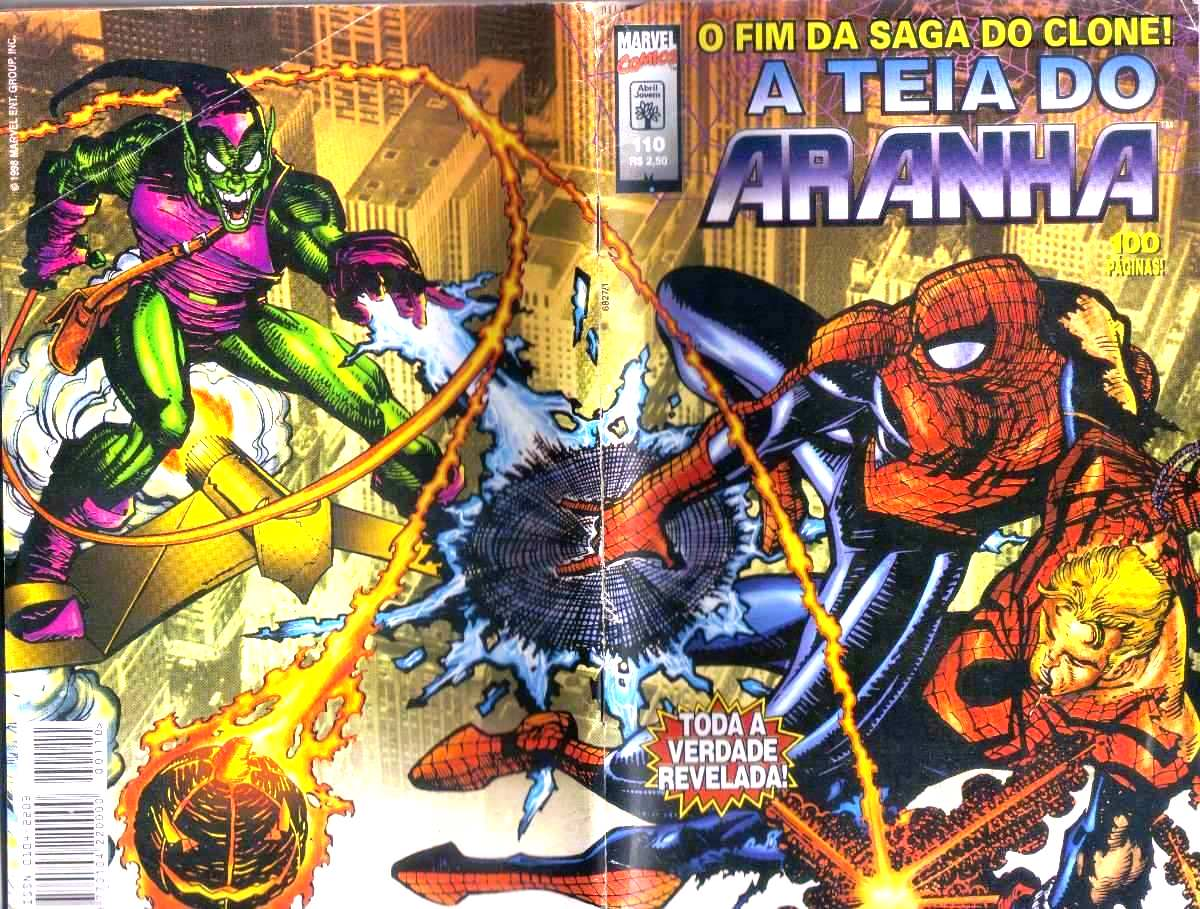 Teia do Aranha 110 - O fim da saga do Clone Original