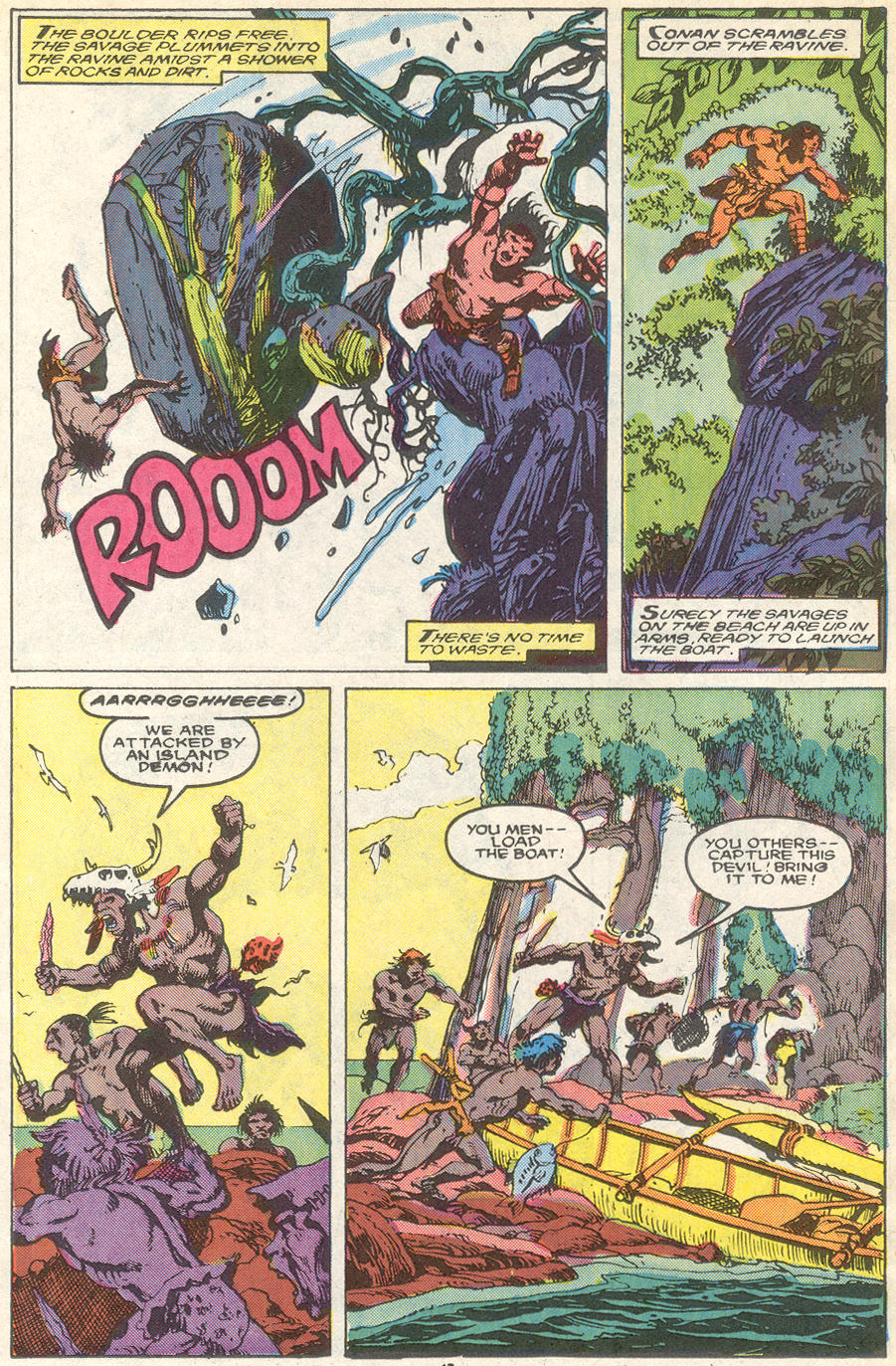 Conan the Barbarian (1970) Issue #218 #230 - English 12