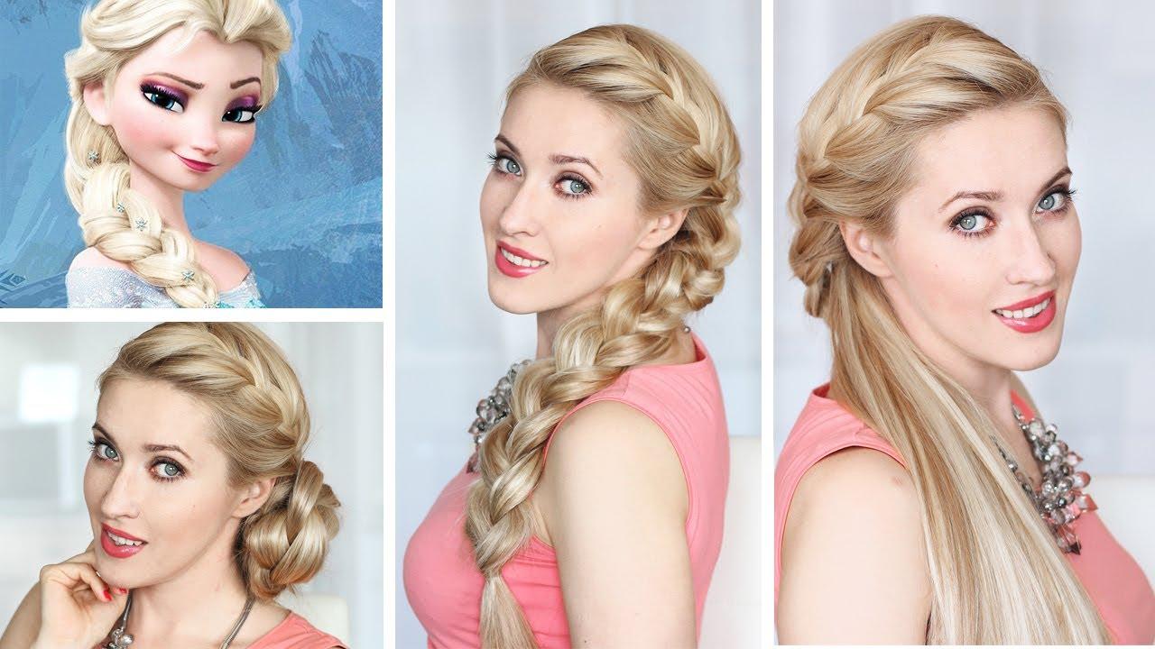 Mis Vestidos De Novia Novias De Cuento De Hadas El Peinado De Elsa
