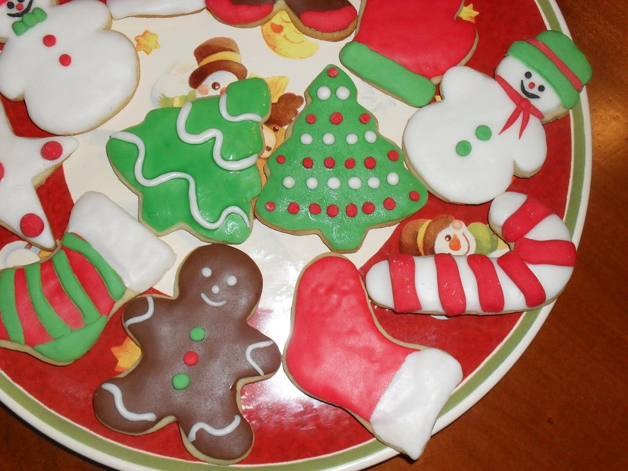Biscotti Cake Design Ricette : Il mondo creativo di Laura: Biscotti di Natale