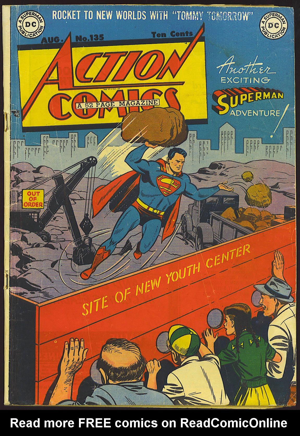 Action Comics (1938) 135 Page 1