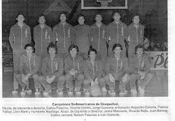 Campeon Sudamericano 1977