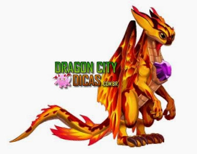 Como fazer o Dragão Fogo Secreto [ Procriações ]
