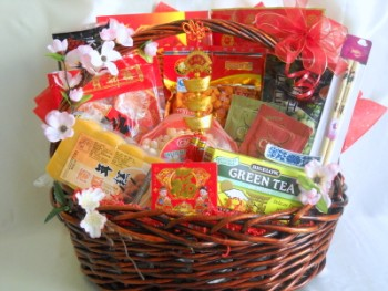 Corporate Gifts Boston: Send Chinese New Year gift baskets in the USA
