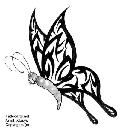 tattoos body art tribal tattoos dragon cross and butterfly tribal tattoo designs. Black Bedroom Furniture Sets. Home Design Ideas