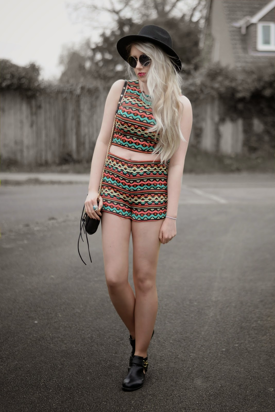 Sammi Jackson - Festival Looks H&M Loves Coachella Coords