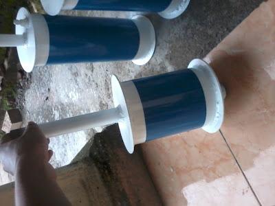 alat pengolah limbah bbm tripod
