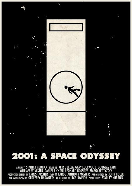 2001: odisea en el espacio poster
