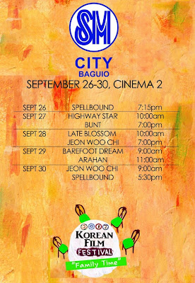 2012 Korean film festival SM Baguio screening