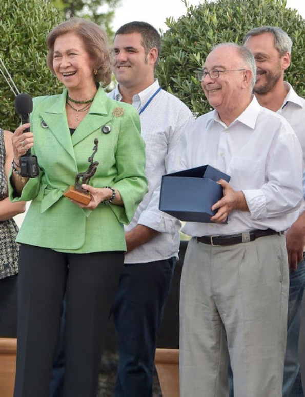 Queen Sofia Inaugurates 'Proyecto Hombre' New Offices In Palma
