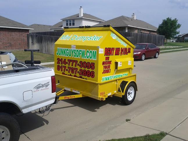 We Delivered A 150 Mini Dumpster In Haltom Dfw Tx That