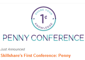 Skillshare's education conference