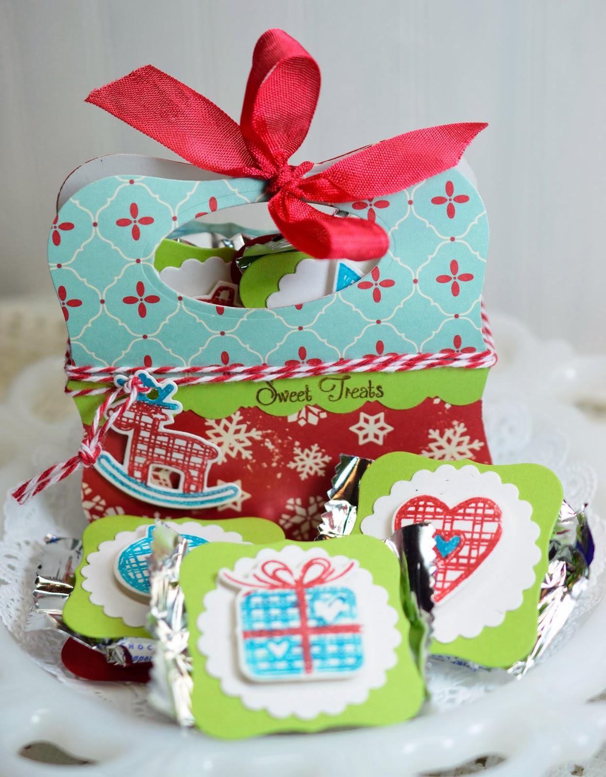 Lori hairston peppermint patty christmas treat box