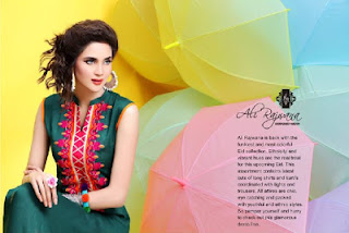 Latest Ali Rajwana Designer Wear Eid Collection 2013-2014 Women