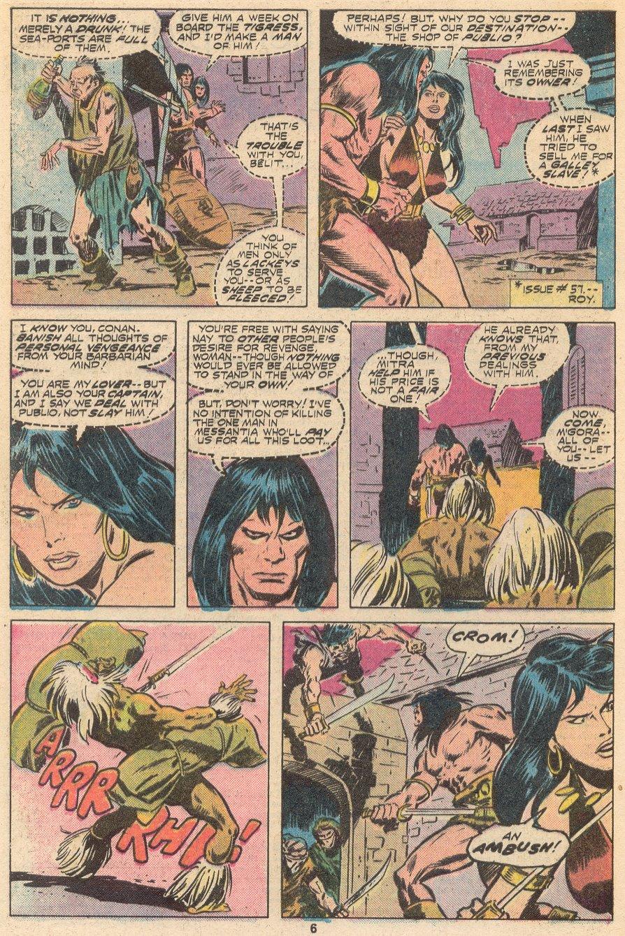 Conan the Barbarian (1970) Issue #66 #78 - English 5