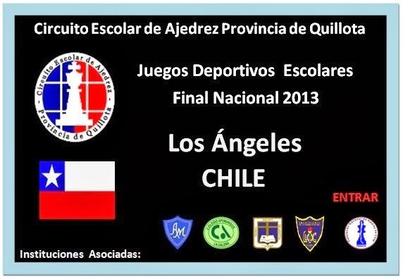 JUEGOS DEPORTIVOS ESCOLARES LOS ANGELES 2013
