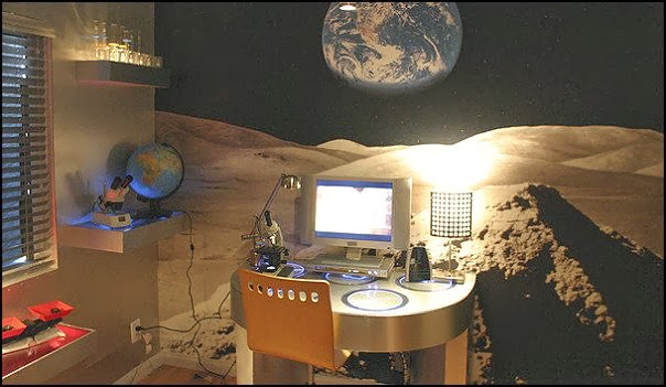 Let Your Child S Imagination Go Wild With The Outer Space Themed Bedrooms Outer Space Theme Bedroom Decorating Ideas