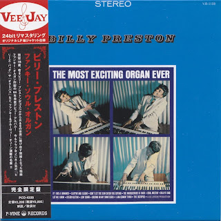 BILLY PRESTON - THE MOST EXCITING ORGAN EVER (VEE JAY 1964) Jap mastering cardboard sleeve