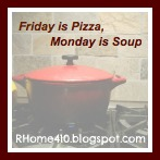 Friday is Pizza, Monday is Soup