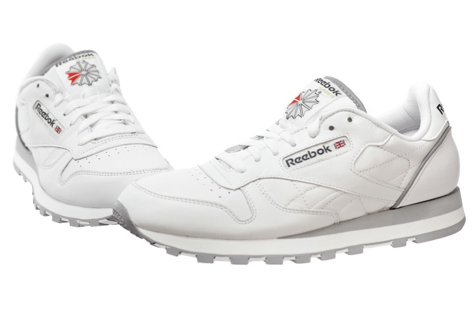 buty reebok classic leather white mens classic 1-101