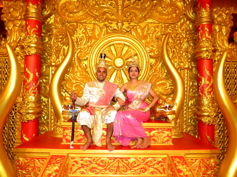 Our day as Thai prince & princess