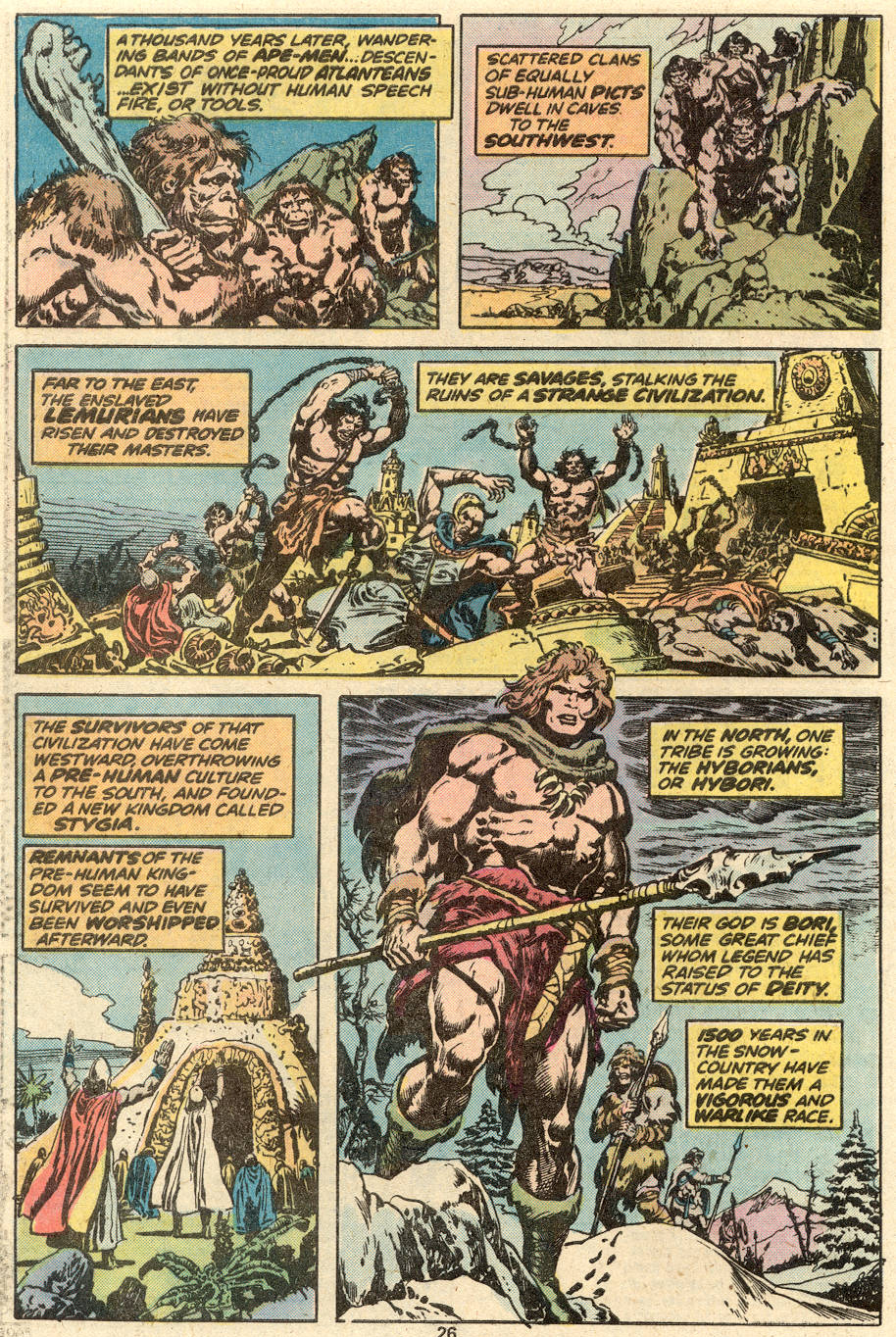 Conan the Barbarian (1970) Issue #87 #99 - English 16