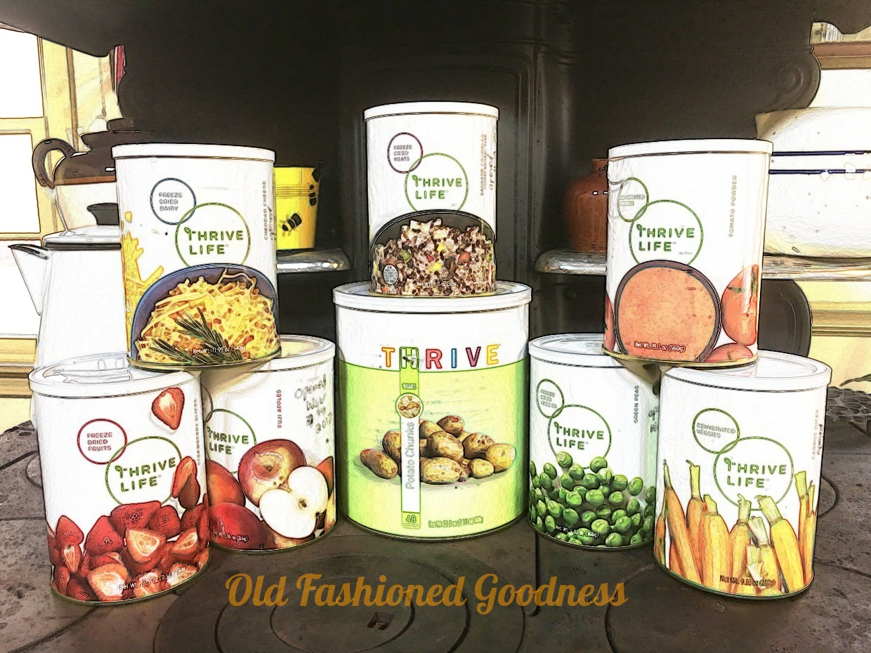 Thrive Freeze Dried Food