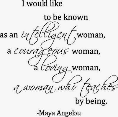 Maya Angeou