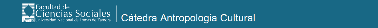 Cátedra Antropología Cultural