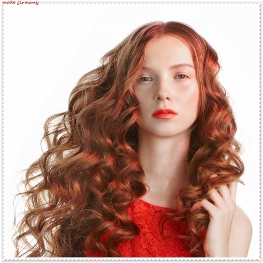 Gewellte Haar Modelle 2014