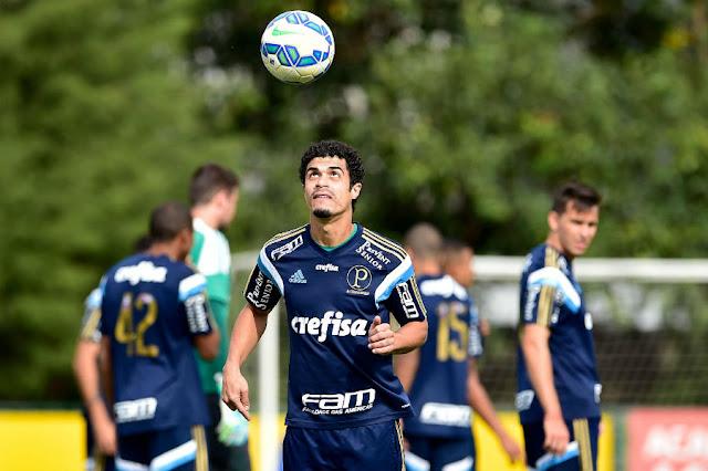 """""""Temos tudo para vencer sem levar gol, que é o mais importante"""", disse Egídio (Foto: Fernando Dantas/Gazeta Press)"""
