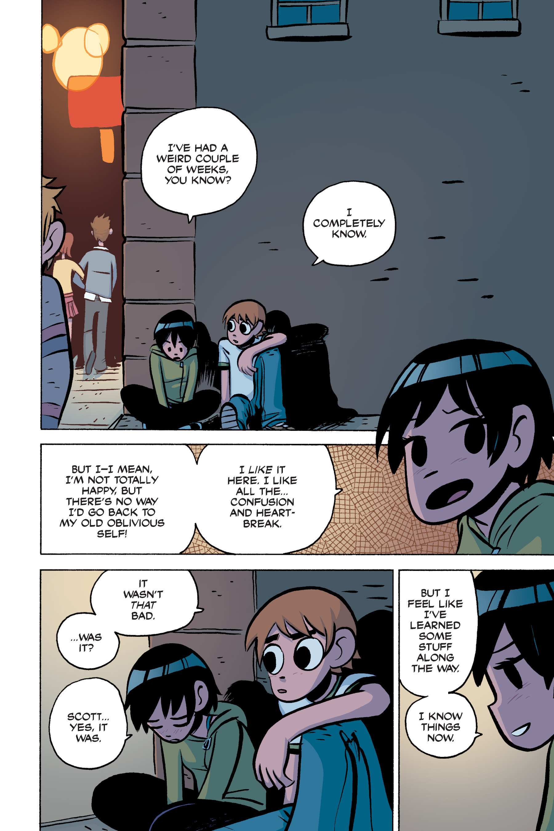 Read online Scott Pilgrim comic -  Issue #3 - 113