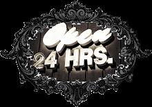 Kedai kami dibuka 24 jam!!