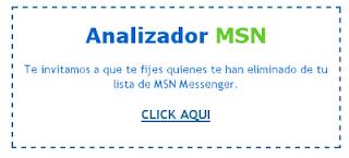Analizador MSN