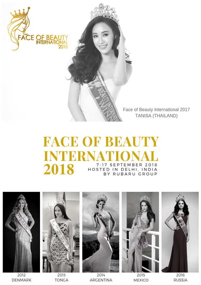 Face of Beauty International 2018