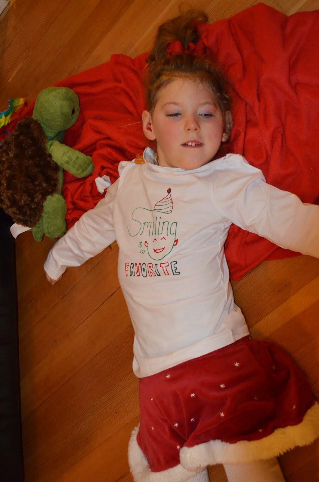 2012: Christmasy Smiles at Caleb's 1st Birthday