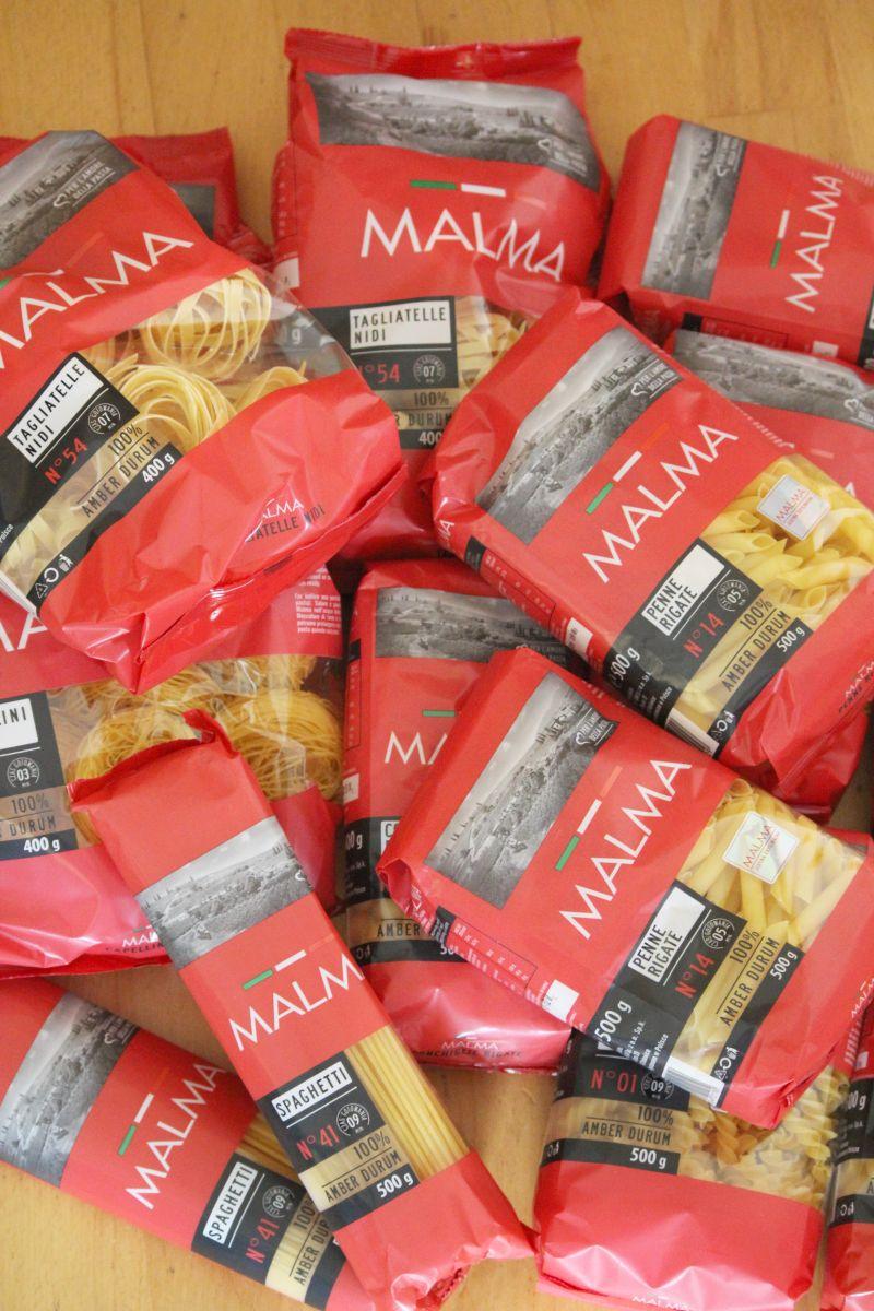 Makaronowy upominek - konkurs z Malma