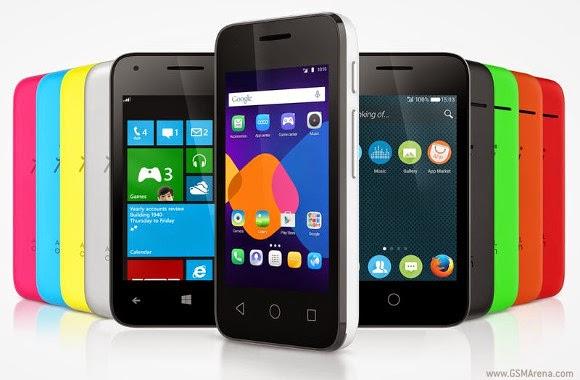 Alcatel One Touch Pixi 3, Ponsel Dengan 3 OS Sekaligus